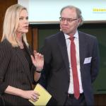 Nina Ruge und Dr. Manfred Albiez am Tag der Insekten 2019 in Berlin